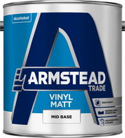 Armstead Trade Vinyl Matt Mid Base 2.5L