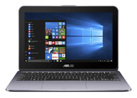 "ASUS VivoBook Flip TP203NA-BP047T 1.1GHz N4200 11.6"" 1366 x 768Pixel Touch screen Grigio Ibrido (2 in 1) notebook/portatile"