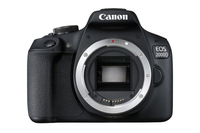 Canon EOS 2000D + EF-S 18-135mm f/3.5-5.6 IS STM Kit fotocamere SLR 24.1MP CMOS 6000 x 4000Pixel Nero