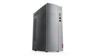 Lenovo IdeaCentre 510-15ABR 3.5GHz A10-9700 Mini Tower Argento PC