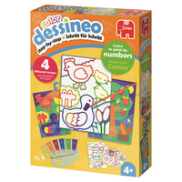 Dessineo Color - Paint by Numbers - Farm Color by numbers kit