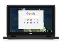 "DELL Chromebook 5190 1.1GHz N3350 11.6"" 1366 x 768Pixel Nero Chromebook"