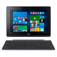 "Acer Aspire Switch 10 E SW3-013-19T3 1.33GHz Z3735F 10.1"" 1280 x 800Pixel Touch screen Nero, Porpora Ibrido (2 in 1)"