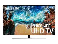 "Samsung UN55NU8000F 54.6"" 4K Ultra HD Smart TV Wi-Fi Nero, Argento LED TV"