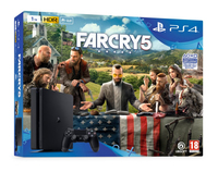Sony PlayStation 4 Slim 1TB + Far Cry 5 1000GB Wi-Fi Nero