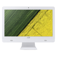 "Acer Aspire C20-720-ML12 1.6GHz J3710 19.5"" 1600 x 900Pixel Bianco PC All-in-one"