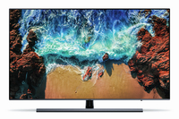 "Samsung 55NU8079 55"" 4K Ultra HD Smart TV Wi-Fi Nero, Argento LED TV"