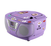 Bigben Interactive CD60UNICORNSTICK Portable CD player Porpora lettore CD