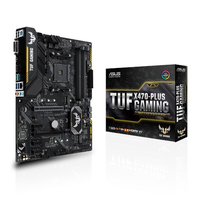 ASUS TUF X470-PLUS GAMING AMD X470 Socket AM4 ATX scheda madre