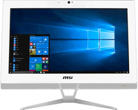 """LCD-PC MSI PRO 20EX 7M-034XEU Bianco 19,5"""" Cel G3930 4GB 1TB DVD Tastiera e Mouse NO SIST. OPERATIVO"""