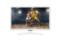 "MONITOR LED TV 23,6"" LG 24TK410V-WZ EUROPA WHITE"