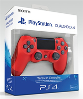 GAMEPAD PS4 SONY WIRELESS DUAL SHOCK V2 MAGMA RED 9814153