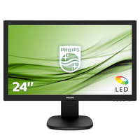 "MONITOR LED 24"" PHILIPS S-line 243s5ldab Multimediale"