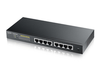 ZyXEL GS1900-8HP v2 Gestito L2 10G Ethernet (100/1000/10000) Supporto Power over Ethernet (PoE) Nero