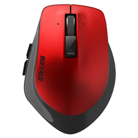 Buffalo BSMBW500M RF Wireless Blue LED 1600DPI Mano destra Rosso mouse