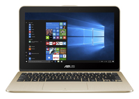"ASUS VivoBook Flip R211NA-0051GN3350 1.1GHz N3350 11.6"" 1366 x 768Pixel Touch screen Oro Ibrido (2 in 1) notebook/portatile"