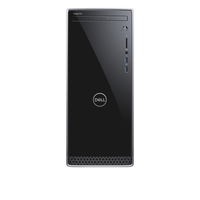 DELL Inspiron 3670 3.6GHz i3-8100 Mini Tower Nero, Argento PC