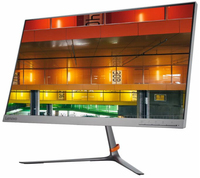 "Lenovo L24q-10 23.8"" Quad HD IPS Opaco Piatto Argento monitor piatto per PC"