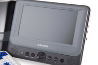 "Salora Main Unit DVP7048TWIN Portable DVD player 7"" Nero, Bianco"