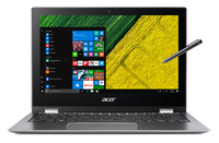 "Acer Spin 1 SP111-32N-C4RC 1.1GHz N3350 11.6"" 1920 x 1080Pixel Touch screen Grigio Computer portatile"