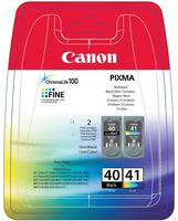 CARTUCCIA CANON PG-40/CL-41 MULTIPACK ORIGINALE