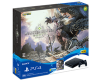Sony Playstation 4 Slim + MONSTER HUNTER: WORLD 500GB Wi-Fi Nero