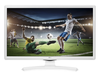 "MONITOR TV 24"" LED HD LG BIANCO"