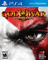 Sony God of War III Remastered PS4 Remastered PlayStation 4 Francese videogioco