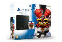 Sony PlayStation 4, Street Fighter V 1000GB Wi-Fi Nero