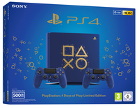 Sony PS4 500GB E + 2 DS4 Days of Play Limited Edition 500GB Wi-Fi Blu