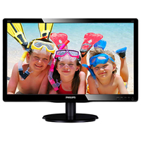 "Philips 200V4QSBR/11 19.53"" Full HD LED Lucida Piatto Nero monitor piatto per PC"