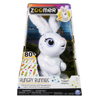 Zoomer Hungry Bunny - Chewy (white)