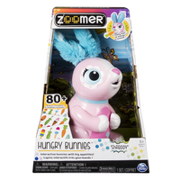 Zoomer Hungry Bunny - Shreddy (pink)