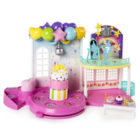 Party Popteenies Poptastic Party Playset Plastica casa per le bambole