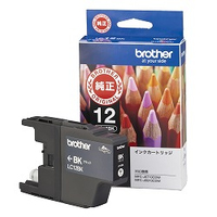 Brother LC12BK Nero cartuccia d