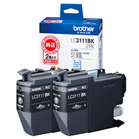 Brother LC3111BK-2PK Nero cartuccia d