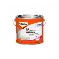 Alabastine 2in1 Muurverf renovatie Wit 2.5L