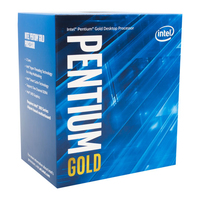 Intel Pentium Gold G5400 3.7GHz 4MB Cache intelligente Scatola processore