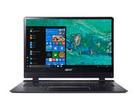 "Acer Swift SF714-51T 1.3GHz i7-7Y75 14"" 1920 x 1080Pixel Touch screen 4G Nero Computer portatile"