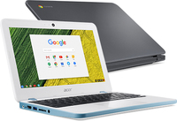 "Acer Chromebook 11 CB311-7H-N14N 1.6GHz N3060 11.6"" 1366 x 768Pixel Bianco Chromebook notebook/portatile"