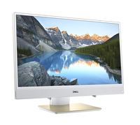 "DELL Inspiron 3477 2.5GHz i5-7200U 23.8"" 1920 x 1080Pixel Touch screen Oro, Bianco PC All-in-one"