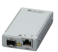 Allied Telesis AT-MMC2000/SP 3534R 1000Mbit/s Grigio convertitore multimediale di rete