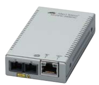 Allied Telesis AT-MMC2000/SC 3448R 1000Mbit/s 850nm Modalità multipla Grigio convertitore multimediale di rete
