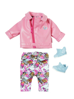 BABY born City Deluxe Scooter Outfit Set di vestiti per bambola