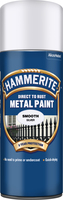 Hammerite Direct To Rust Metal Paint Aerosol Smooth Finish Argento 0.4L