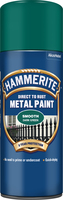Hammerite Direct To Rust Metal Paint Aerosol Smooth Finish Verde scuro 0.4L