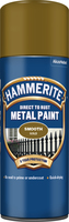 Hammerite Direct To Rust Metal Paint Aerosol Smooth Finish Oro 0.4L