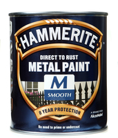 Hammerite Direct To Rust Metal Paint Smooth Finish Medium Base 0.75L