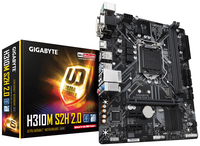 MOTHERBOARD 1151 9th/8th H310M-S2H ALLINONE GIGABYTE