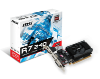 MSI V809-2847R Radeon R7 240 2GB GDDR3 scheda video
